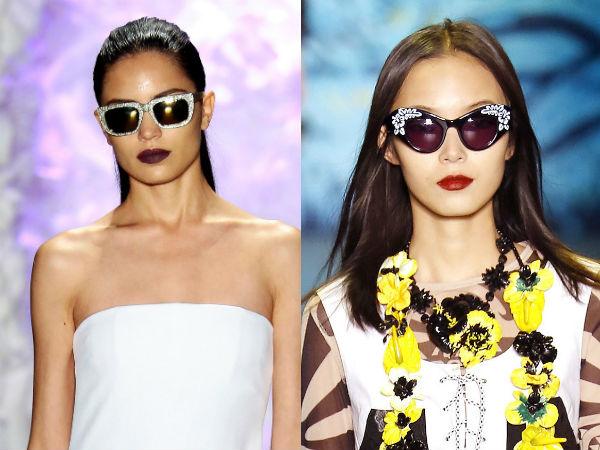 Women sunglasses 2017 spring summer: décor