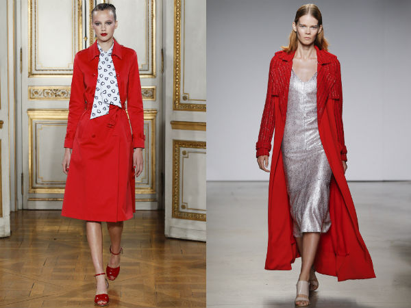 Red clothing to wear in 2017