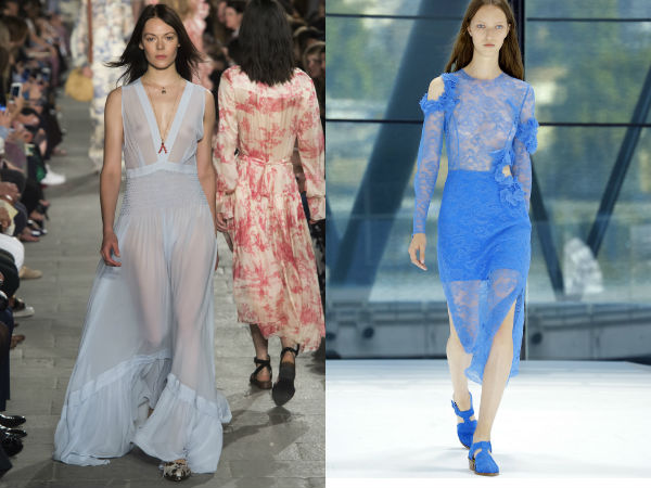 Spring Summer 2017 Fashion trends: Transparency