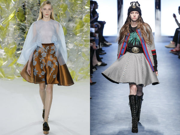 What skirts to wear in fall 2018