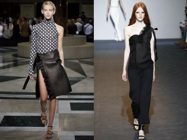 2016 Spring Summer Fashion trends: Asymmetry