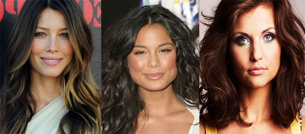 Medium hair hairstyles for square face