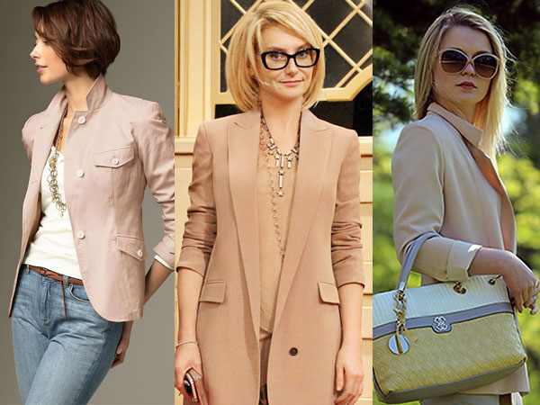 how to wear fashion beige color