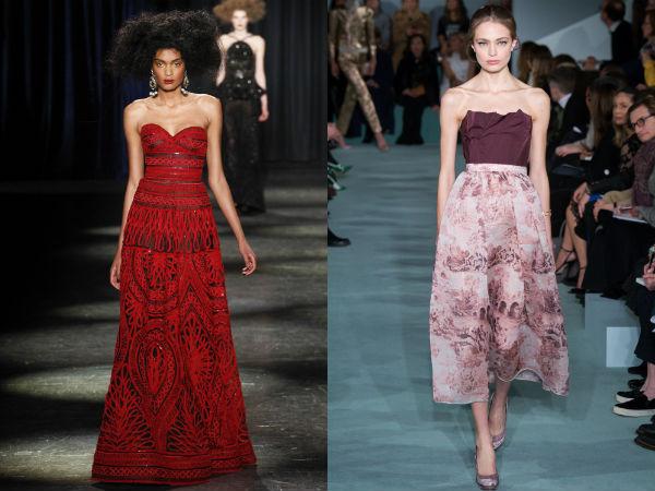 Evening dresses 2018 bare shoulders width=