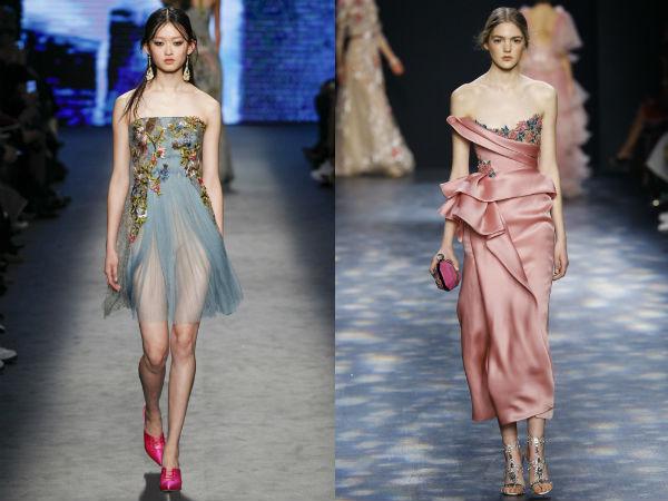 Evening dresses trends