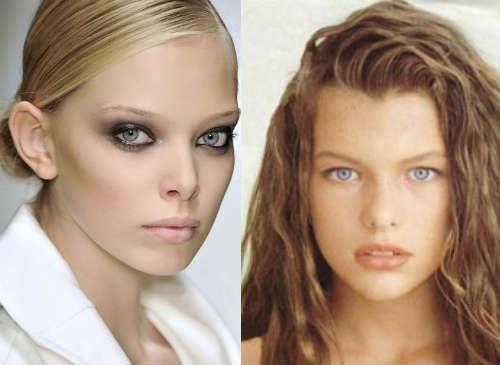 Rules fir gray eyes makeup