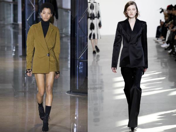 2016 Women's buttonless blazers