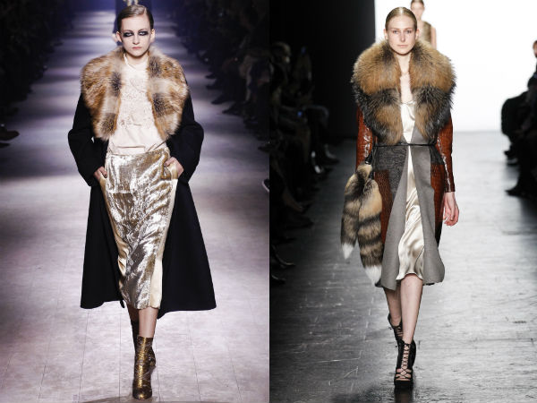 Coats for women with fur collar