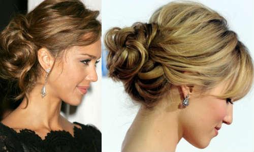 Casual hair bun