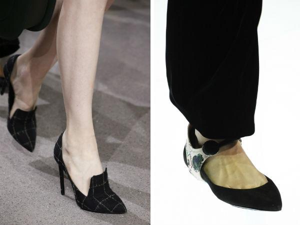 Elegant women's footwear with pointy toe