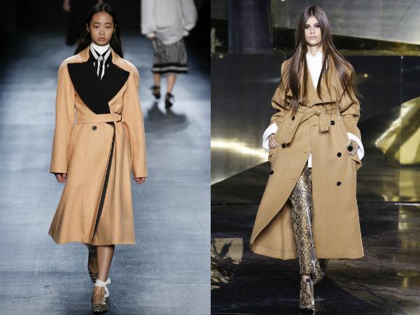 Beige coats 2018