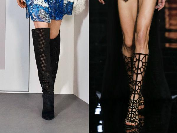 Womens festive boots