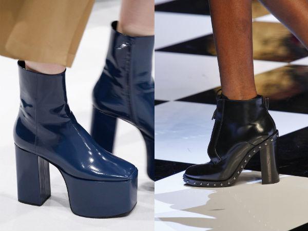 platforms and heels