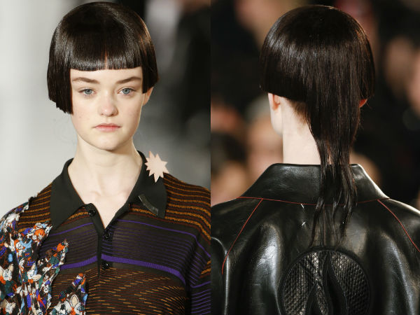 Asymmetric haircuts