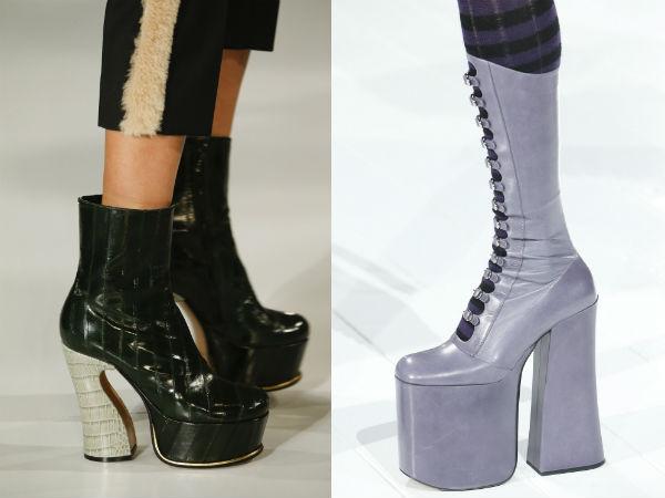 heels and platforms