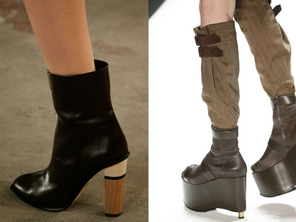 thick comfortable heel