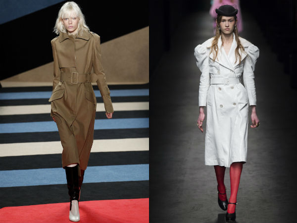 Best trenches for fall winter 2017 2018: color