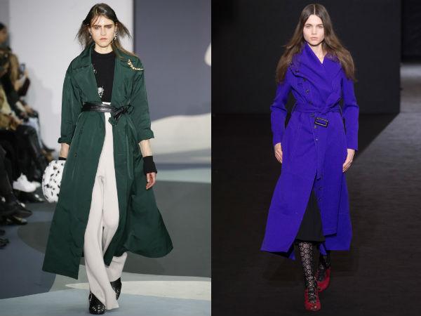 Winter trench coats
