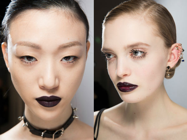 Makeup 2017 2018 gothic style