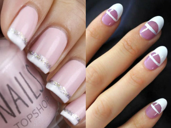 Fashion French manicure 2017 2018