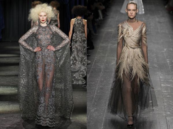 Elegant festive dresses designs