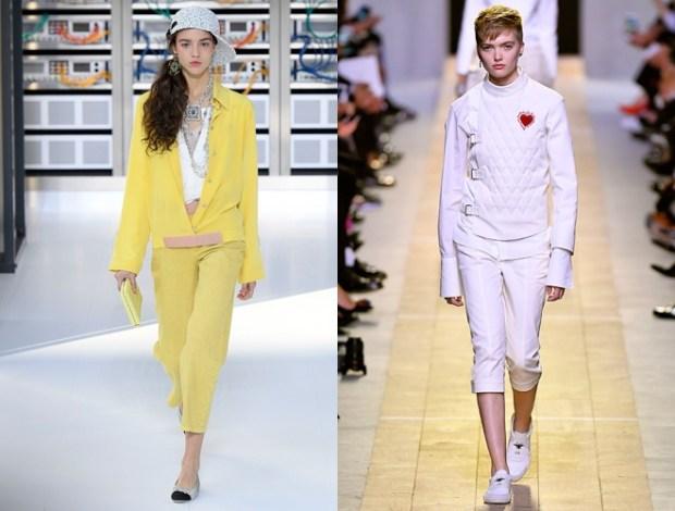 Sport chic at Paris fashion week