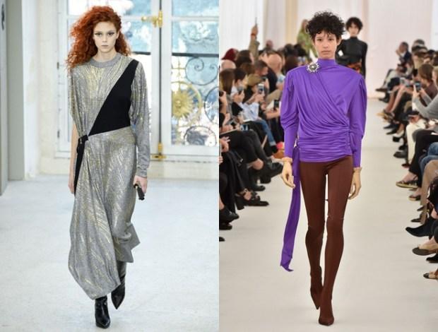 the 80's at Paris Fashion Week