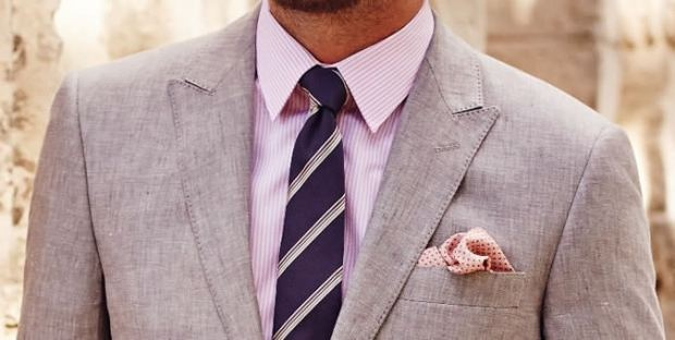 How to match a tie with a pink shirt