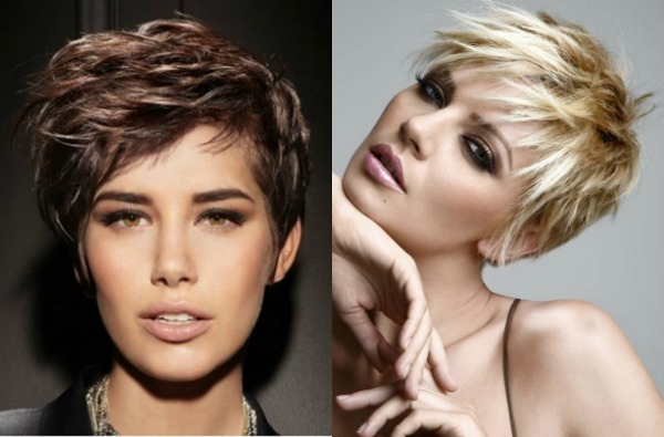Texturized haircuts for short hair
