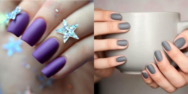 Manicure 2018 matte nail polish