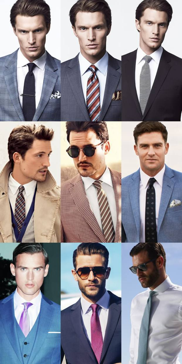 What tie to wear with a white shirt