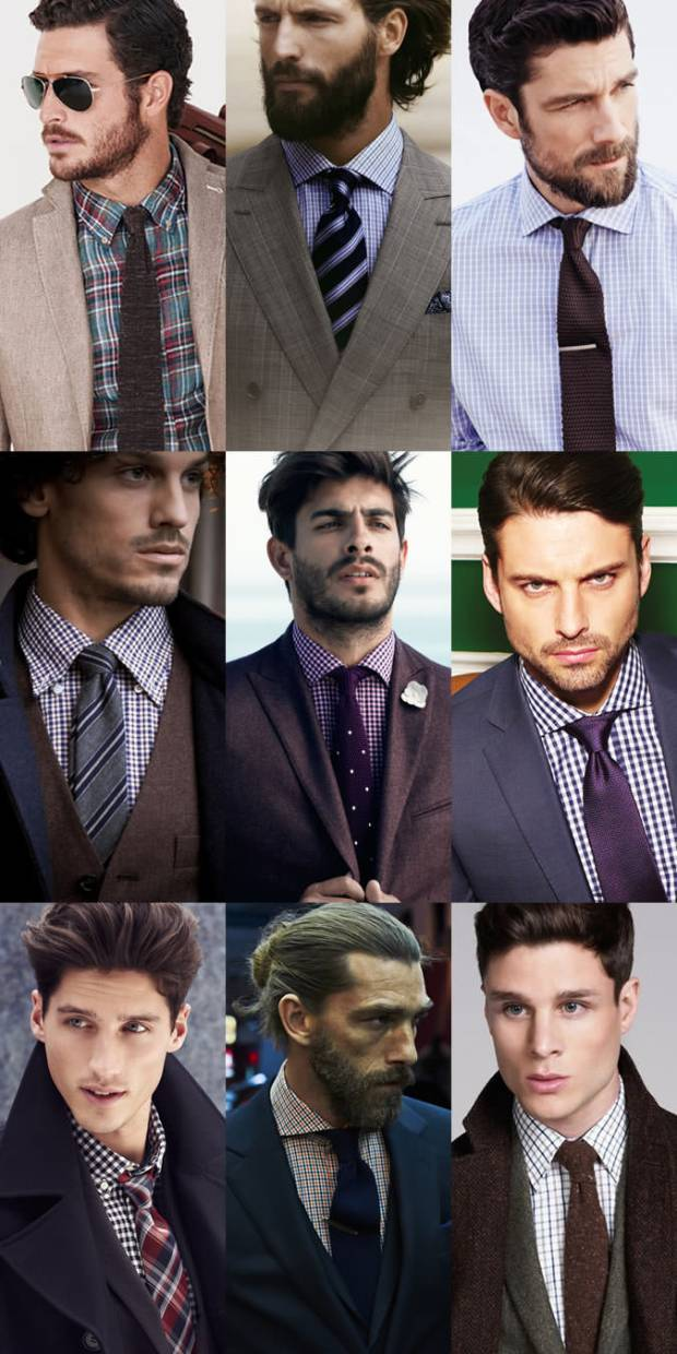 What tie to wear with a plaid shirt