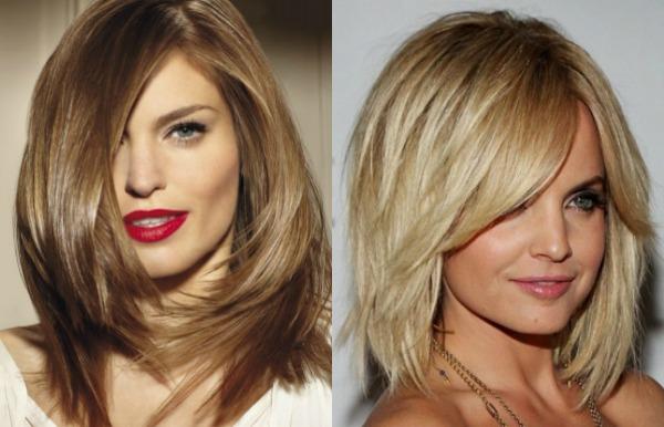 cascade for medium length hair