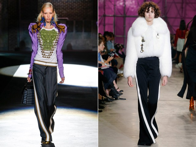 What pants to wear in spring 2017