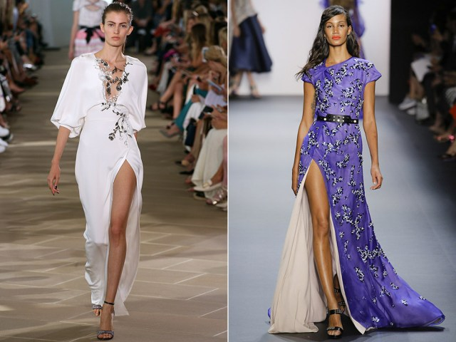 Spring summer dresses 2017: length