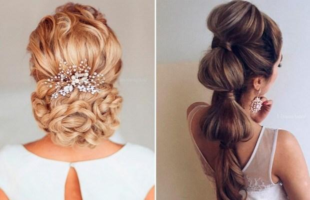 bridal braids long hair