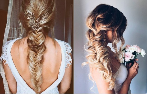 What are the wedding hairstyle trends in 2018