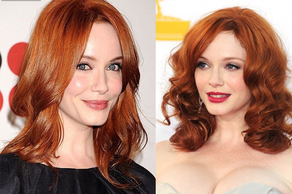 What hair color have red-haired girls in 2018