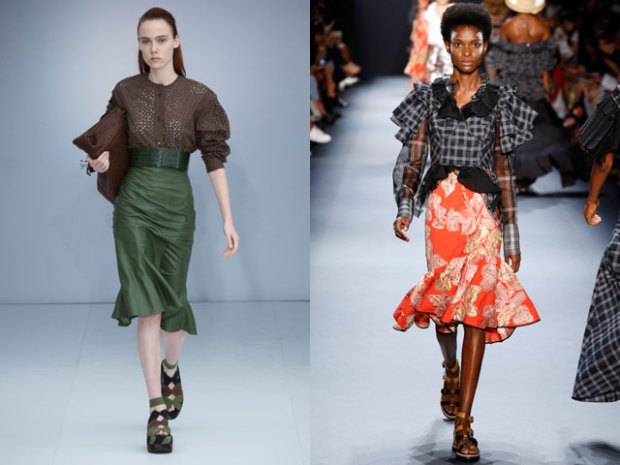 What are the skirt trends in 2018
