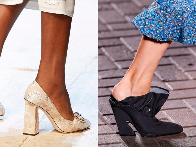 heeled shoes 2017