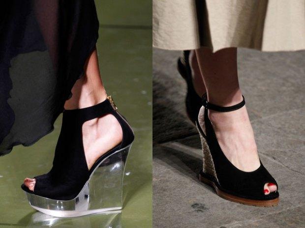 Black womens sandals