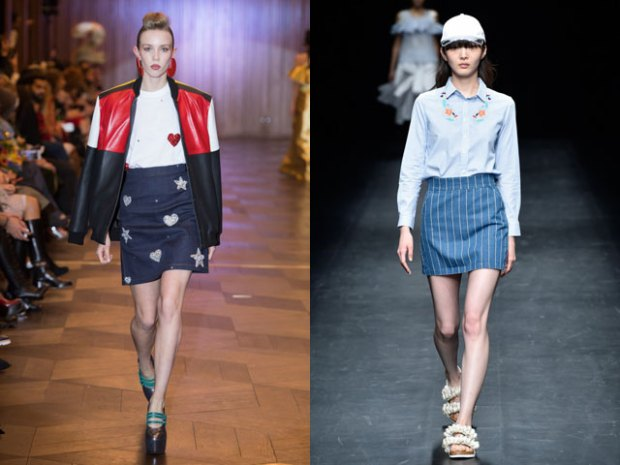 Women skirts 2018 denim