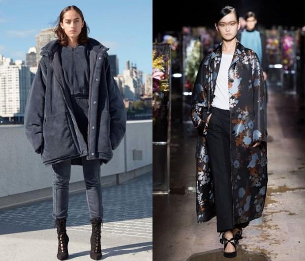 Women oversize coat 2018