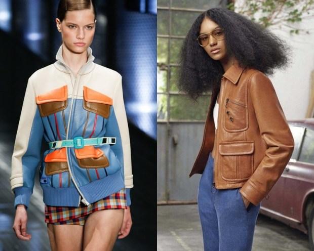 stylish with large pockets