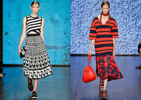 T-shirts for woman spring summer 2018 stripes