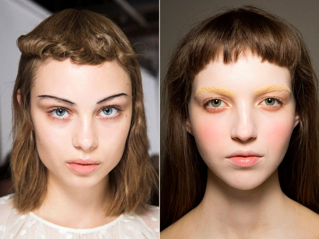 hairstyles with short bangs 2017