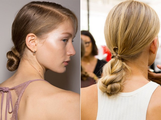 Simple hairstyles spring summer 2017