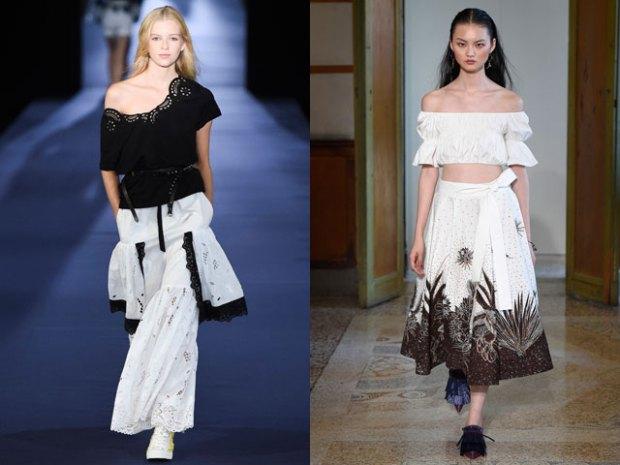 Blouses for women spring summer 2018 bare shoulders