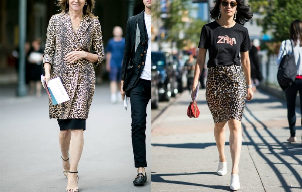 Street fashion trends 2018: print