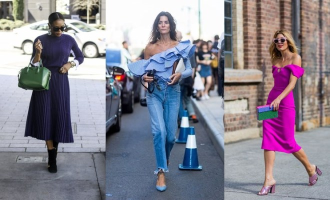 Spring-Summer 2018 Street Style Trends